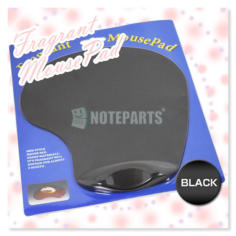 優しく匂う優雅な香りでしかも手首が疲れにくい設計香るマウスパッド ブラック