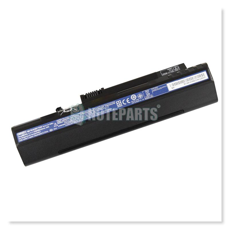Acer純正 エイサー Aspire One A150 D150 D250 P531h ZG5 6セル バッテリー ASONE-B6(黒)