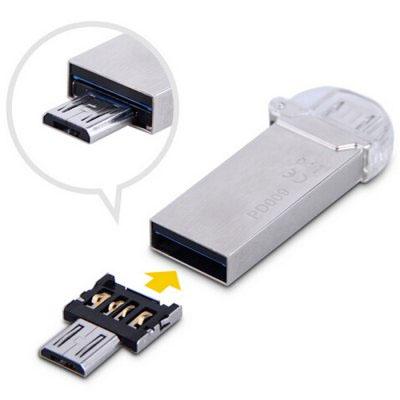 スマホにUSB機器を接続!スマートフォン対応 小型USB変換アダプター