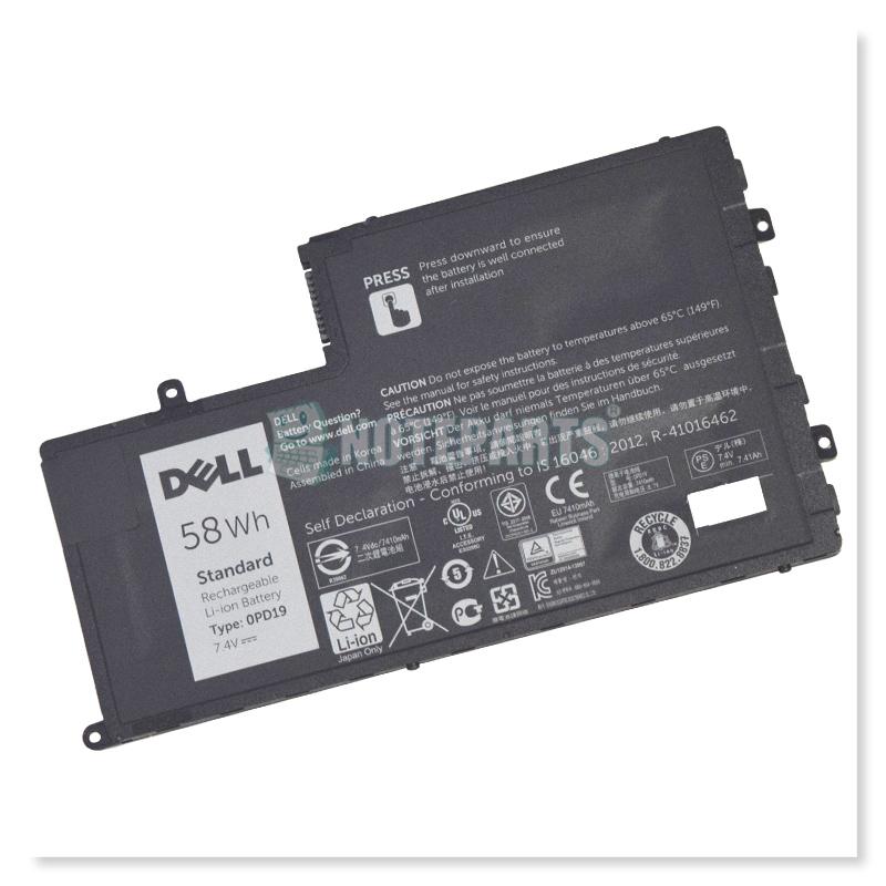 Dell純正 デル Latitude 14 (3450) 15 (3550) バッテリー 86JK8 0PD19