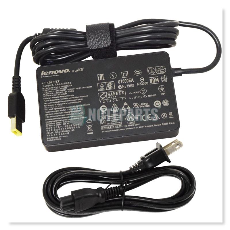 Lenovo レノボ ThinkPad X240 X250 X1 Carbon IdeaPad Yoga 20V 3.25A 65W スリムACアダプター
