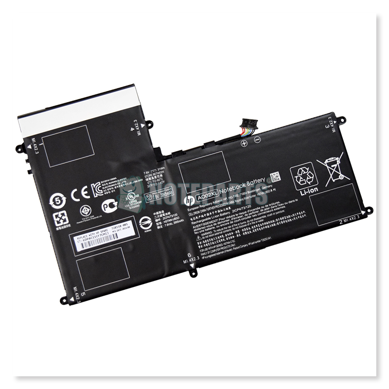 HP純正 ElitePad 1000 G2 バッテリー AO02XL