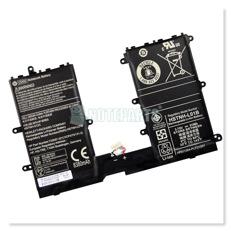 HP純正 Pro Tablet 610 G1 バッテリー CD02