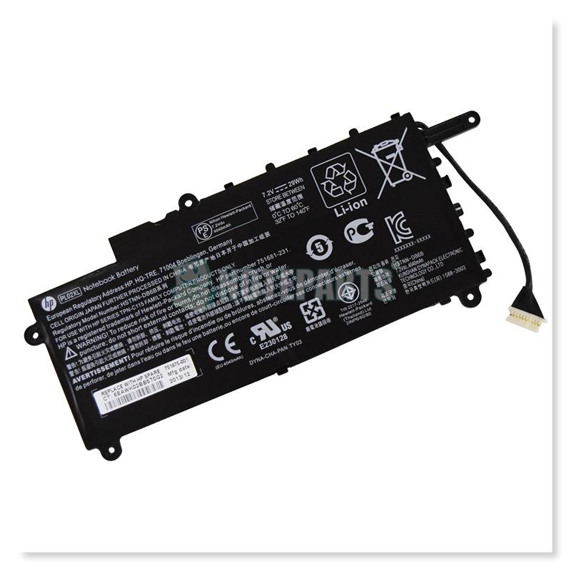 HP純正 Pavilion 11-n000 x360 Li-ion バッテリー PL02XL 751681-231