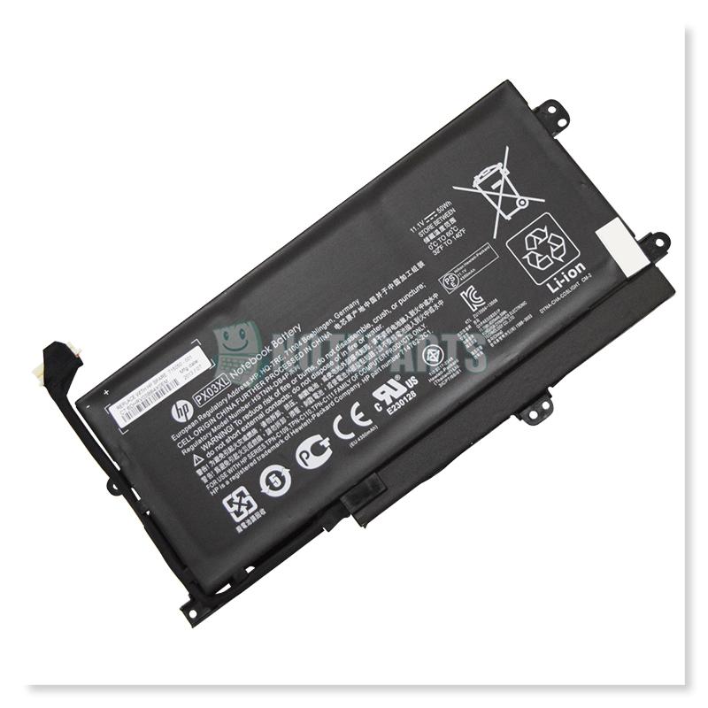 HP純正 ENVY TouchSmart Sleekbook 14-k000 14-k023TX バッテリー PX03XL