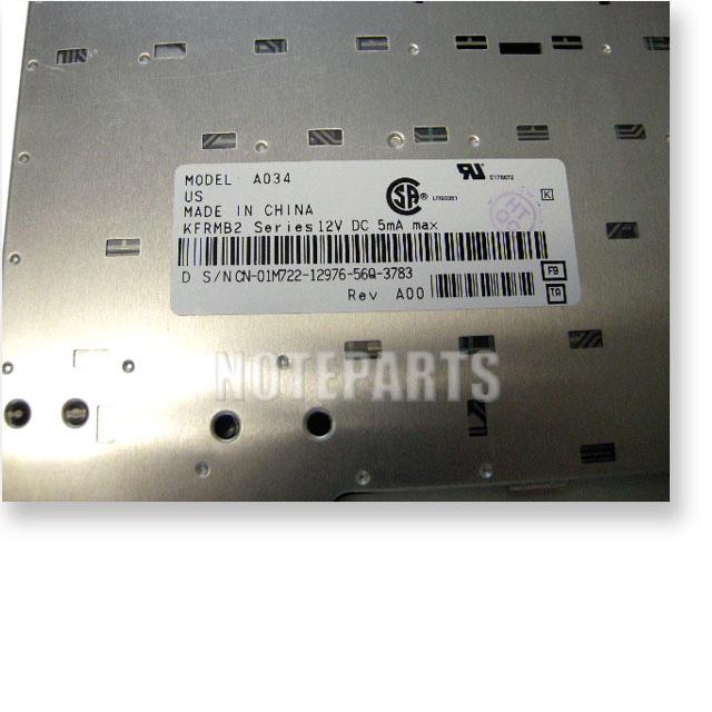 Dell Latitude D500 Inspiron 500m 510m 600m 英語キーボード