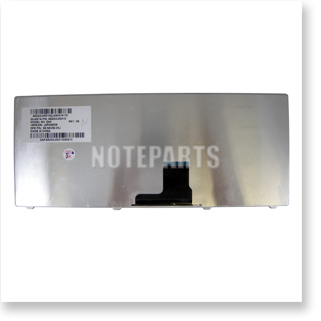Acer Aspire One 751 752 753 ZA3 Gateway EC14 EC18 日本語キーボード ブラック