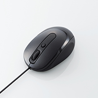 3ボタン光学式マウス M-Y5AURシリーズ ブラック
