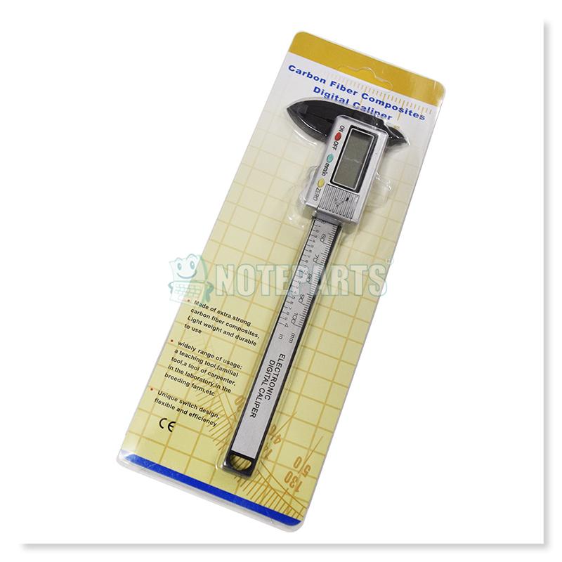 カーボン製デジタルノギス 10cmタイプ 0.1mmから計測可能