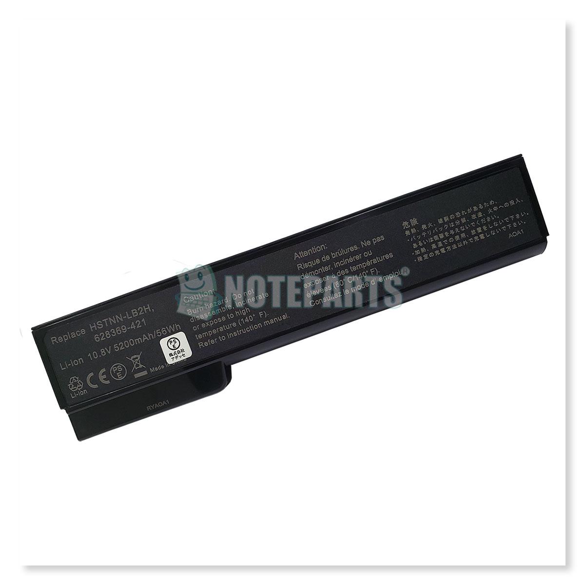HP ProBook 6560b 6570b EliteBook 8460p 8560p バッテリー QK642AA 628664-001 CC06対応
