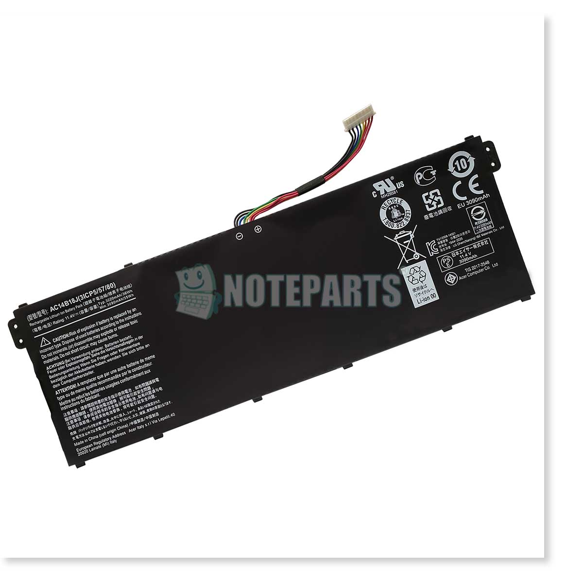 Acer純正 エイサー Aspire ES1-132 ES1-332 ES1-533 バッテリー AC14B13J AC14B18J