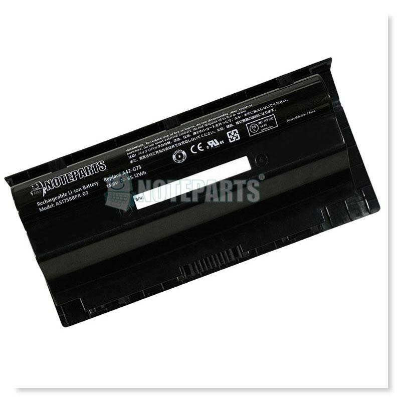 Asus ROG G75VW 8セル バッテリー A42-G75対応