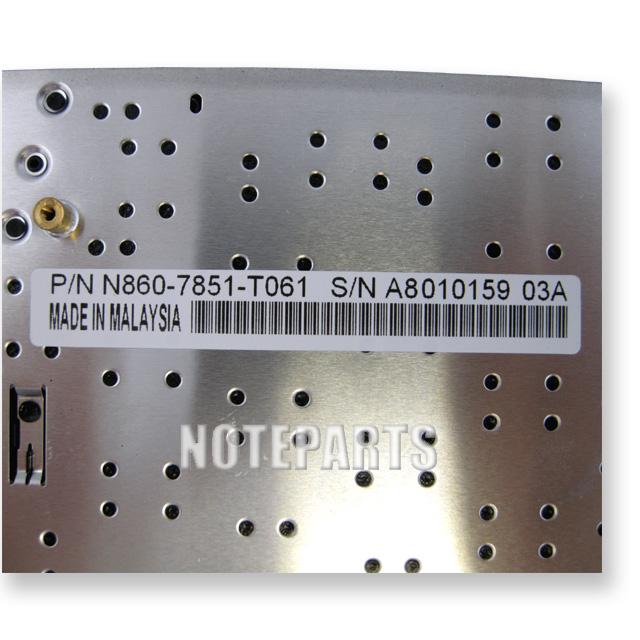 Panasonic Let's note CF-W7/W8/W9 CF-T7/T8/T9シリーズ 日本語キーボード ブラック