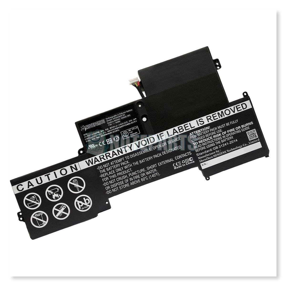 HP EliteBook Folio 1020 G1 EliteBook 1030 G1 バッテリー 760505-005 765605-005 BR04XL BO04XL対応