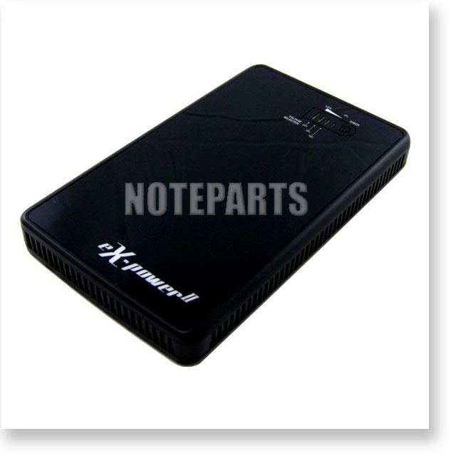EX-POWER II ノート・タブレット・スマホ対応 大容量モバイルバッテリー プラグさらに増量!