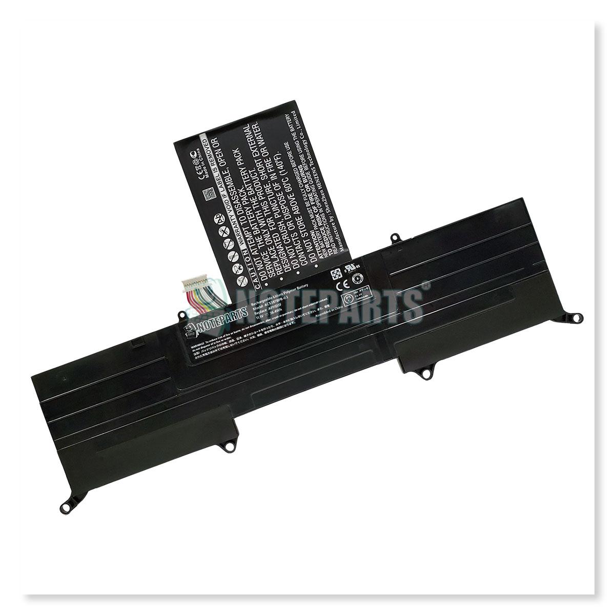 Acer エイサー Aspire S3 S3-391 S3-951 Ultrabook バッテリー AP11D3F対応