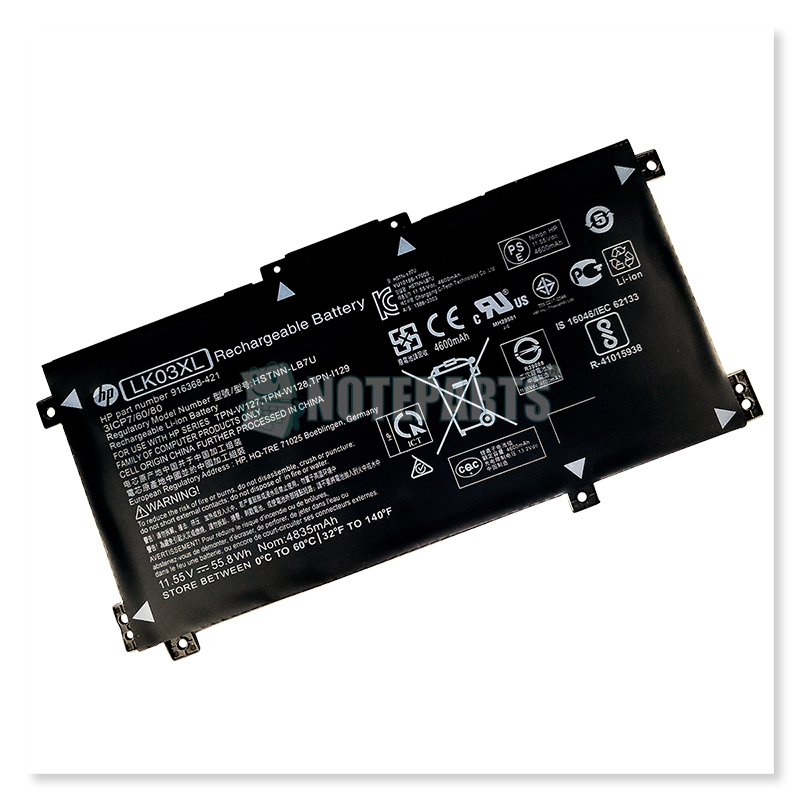 HP純正 ENVY x360 15-cp0000 15-cp0016AU 15-cp0017AU バッテリー LK03XL 916814-855 HSTNN-UB7I