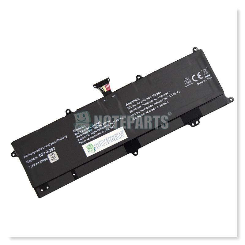 Asus VivoBook X201E X202E S200E バッテリー C21-X202対応