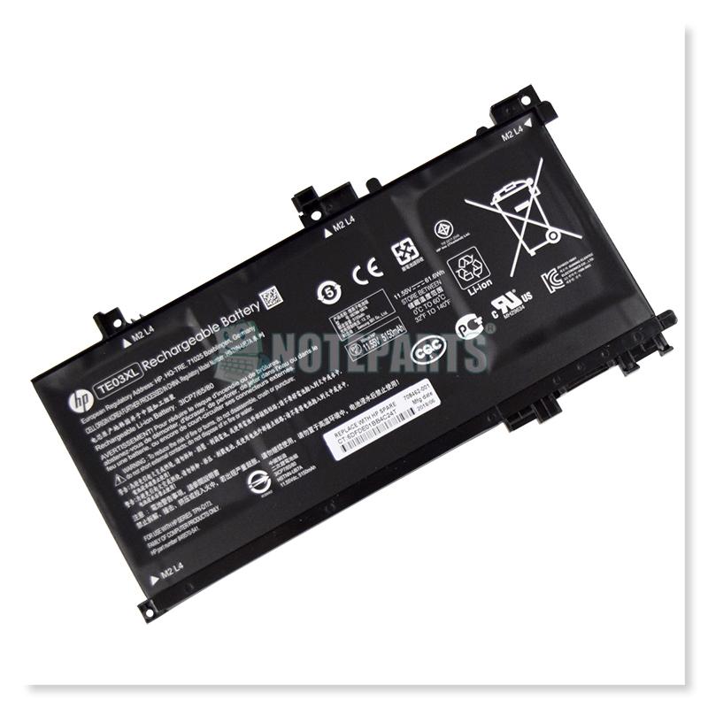 HP純正 OMEN 15-ax000 15-ax021TX 15-ax022TX 15-ax023TX 15-ax050TX バッテリー TE03XL