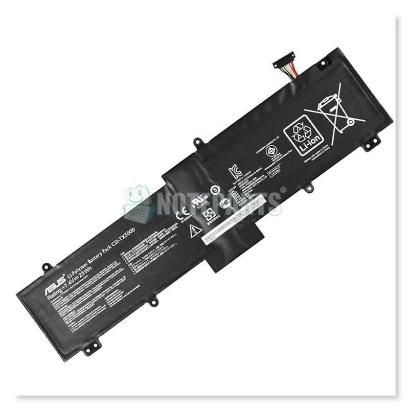 Asus純正 TransBook TX300CA キーボードドック バッテリー C21-TX300D