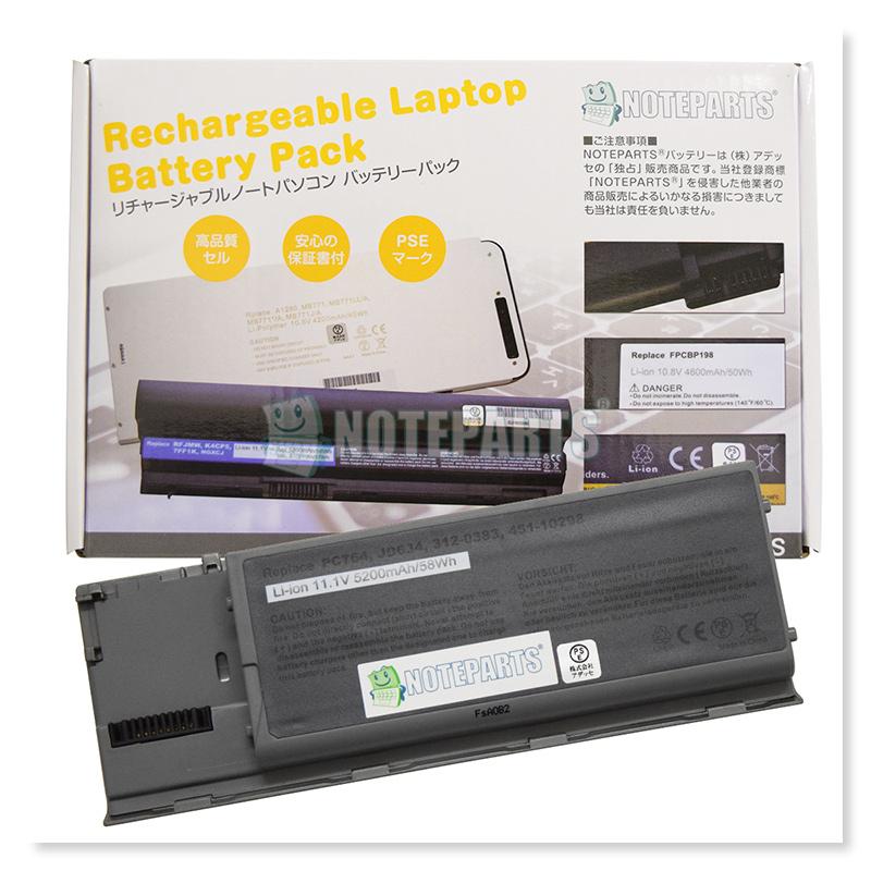 Dell デル Latitude D620 D630 6セル バッテリー 312-0383 310-9080 JD634 UD088対応