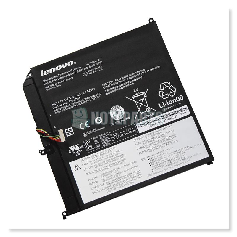 Lenovo純正 レノボ ThinkPad Helix (2013/2014) バッテリー 45N1103