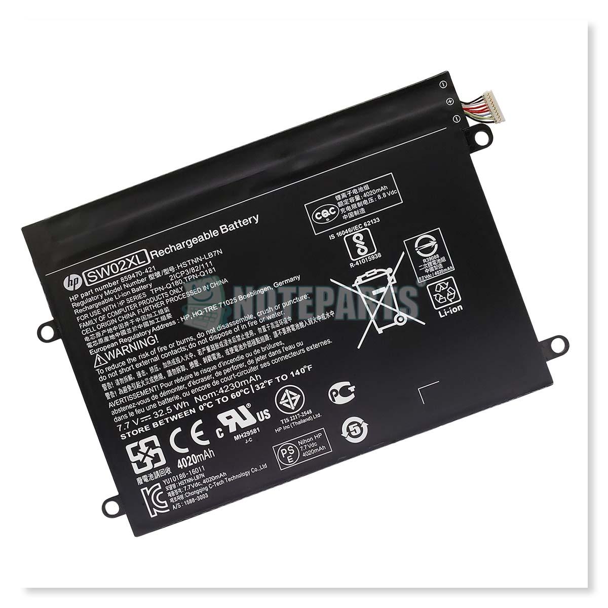 HP純正 x2 210 G2 バッテリー 859517-855 HSTNN-IB7N SW02XL