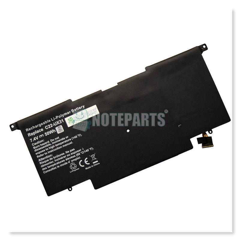 Asus ZENBOOK UX31A UX31E バッテリー C22-UX31対応
