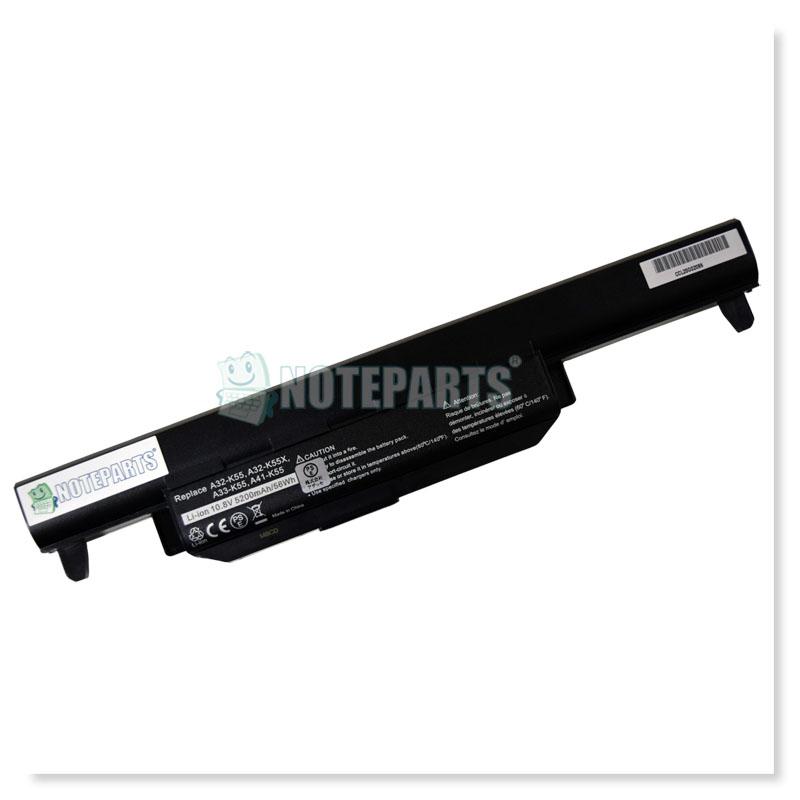 Asus K55DR K55A K55VD X55U X75VD 6セル バッテリー A32-K55対応