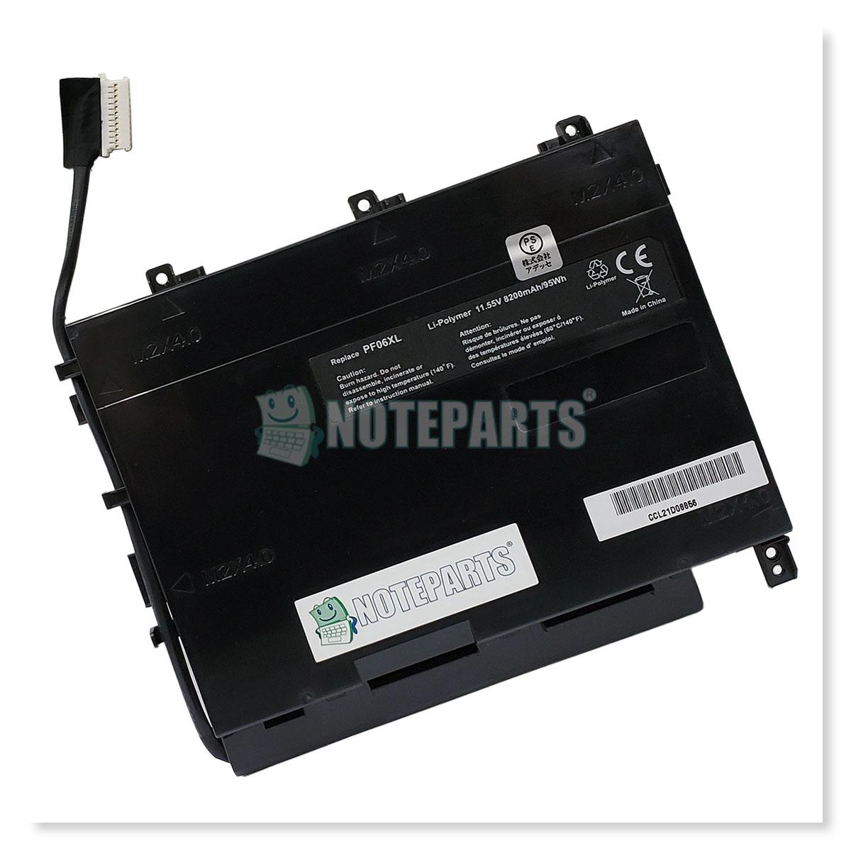 HP OMEN 17-w100 17-w104TX 17-w105TX 17-w-200 17-w203TX 17-w204TX バッテリーPF06XL対応