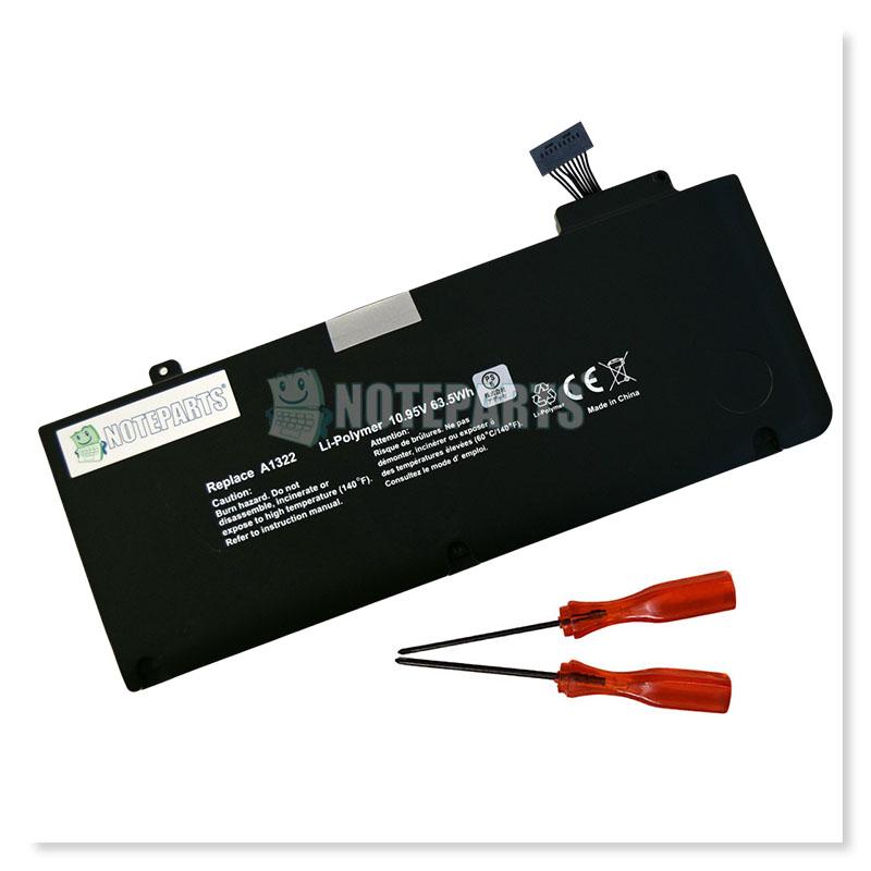 """Apple アップル MacBook Pro 13"""" A1278 MB990 MC700 MC374 MD101 MD313 バッテリー A1322対応"""