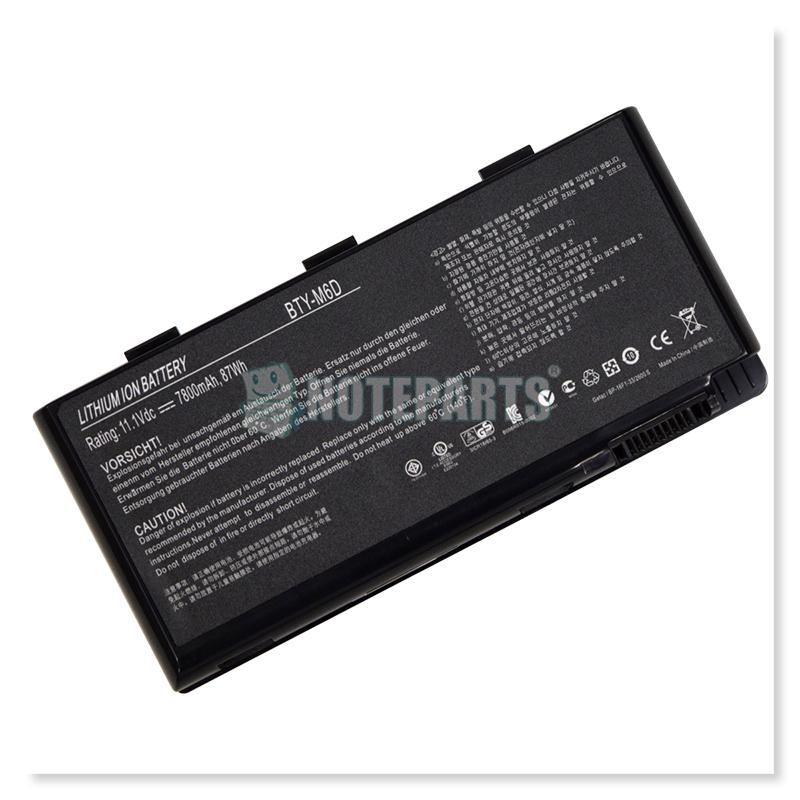 Dospara ドスパラ GALLERIA QF770HG QF780HG QF970HG QF980HG バッテリー BTY-M6D
