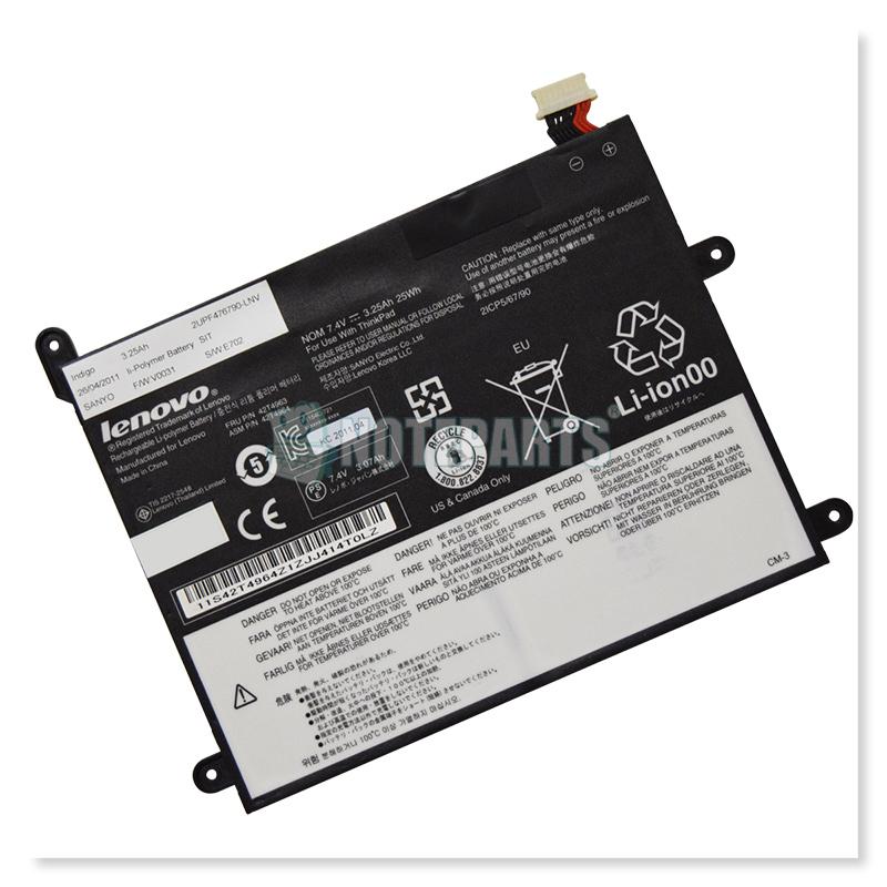 Lenovo純正 レノボ ThinkPad Tablet バッテリー 42T4963 42T4965