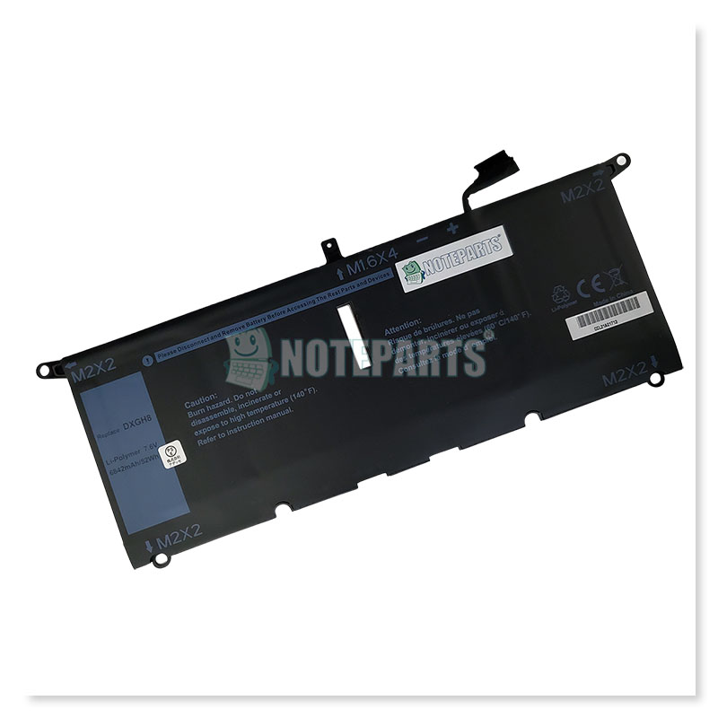 Dell デル XPS 13 9370 9380 Latitude 13 3301 バッテリー DXGH8 H754V 0H754V対応