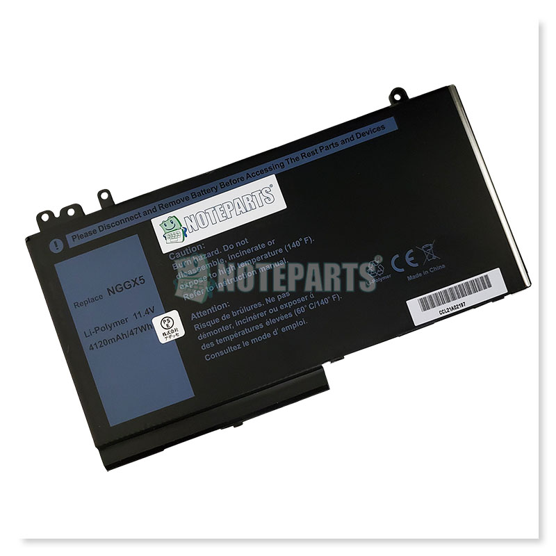 Dell デル Latitude E5270 E5470 3セル バッテリー NGGX5対応