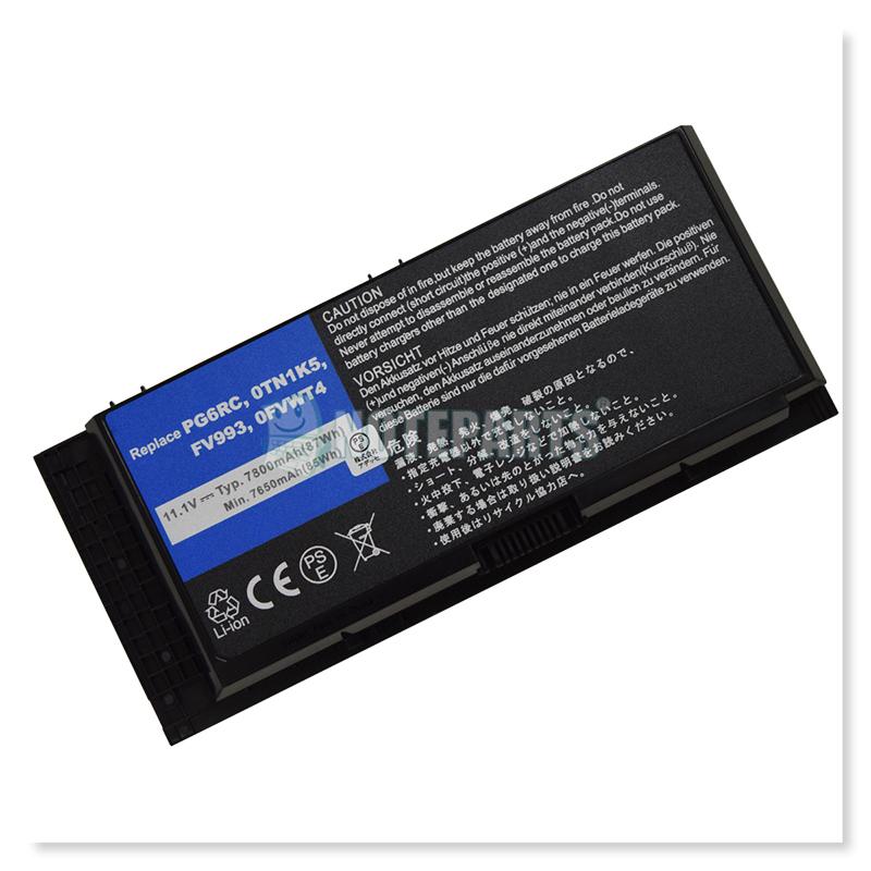 Dell デル Precision M4600 M4800 M6600 M6700 M6800 9セル バッテリー FV993対応