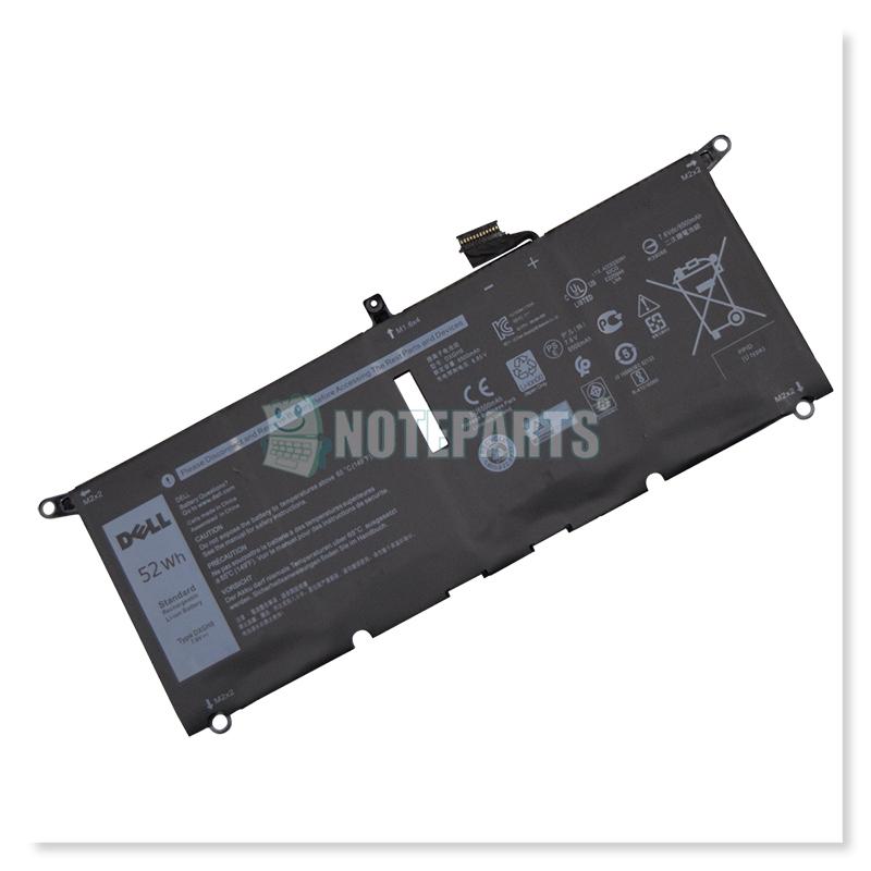 Dell純正 デル XPS 13 9370 9380 Latitude 13 3301 バッテリー DXGH8 H754V 0H754V