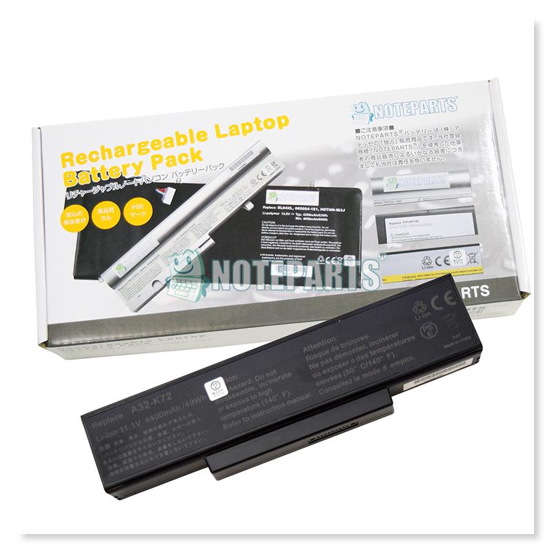 Asus K73S K73SD K73SM 6セル バッテリー A32-K72対応