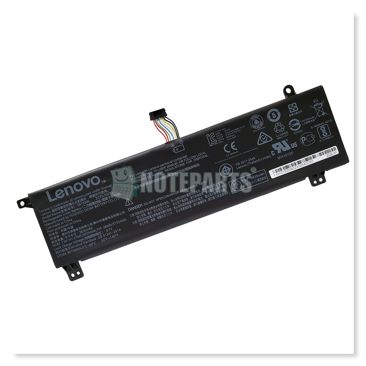 Lenovo純正 レノボ ideapad 120s (11.6型) 120s-11IAP HDD搭載モデル用 バッテリー 0813006 5B10P23790 5B10P23836
