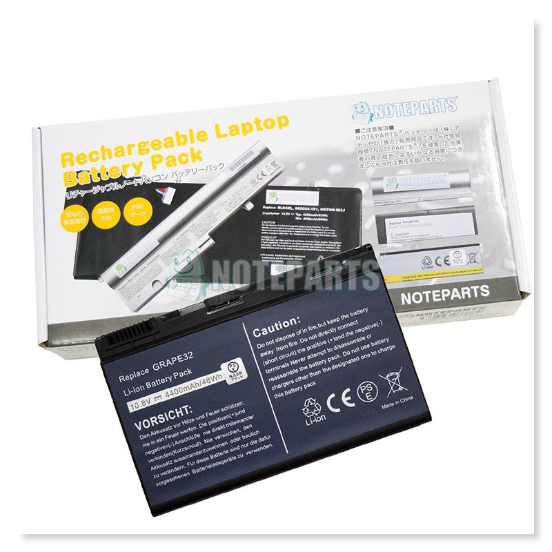 Acer エイサー TravelMate 5220 5230 5520 5530 5720 5730 7720 7730 バッテリー LC.BTP00.005 LC.BTP00.011 TM00741対応