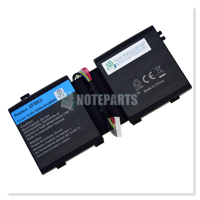 Dell デル Alienware M17x R5 M18x R3 バッテリー 2F8K3 KJ2PX G33TT対応