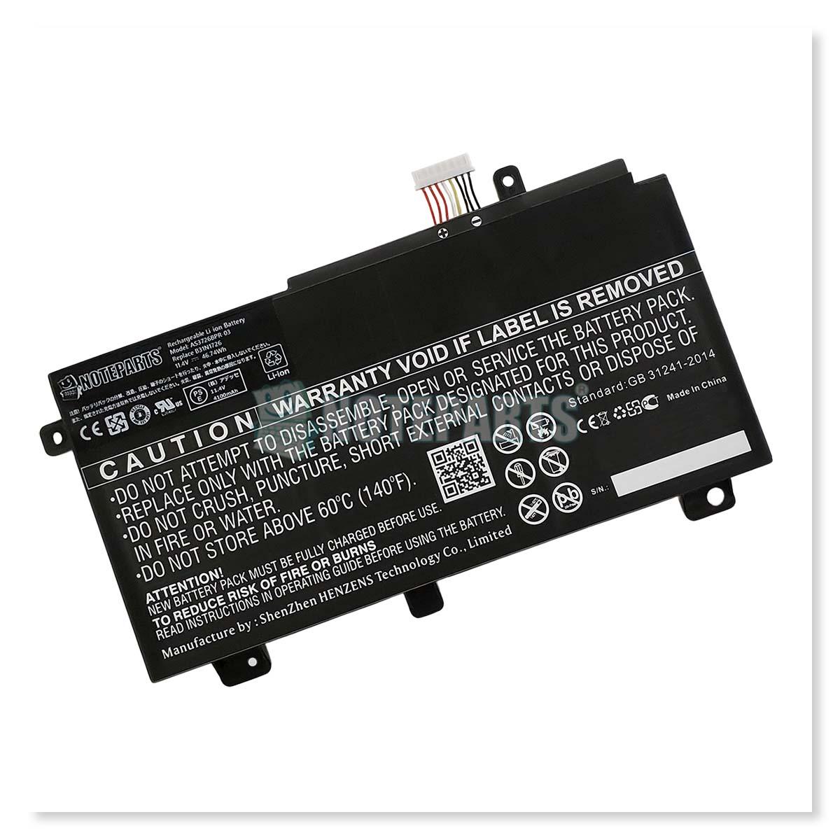 Asus エイスース ROG Strix G G531GD G531GT G15 G512LI TUF Gaming A15 FA506IH FX506LH FX504GD FX505DT バッテリー B31N1726対応