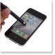 スマートフォン・タブレット スタイラス タッチペン ボールペン付き iPhone iPad Galaxy Xperia 対応 パープル