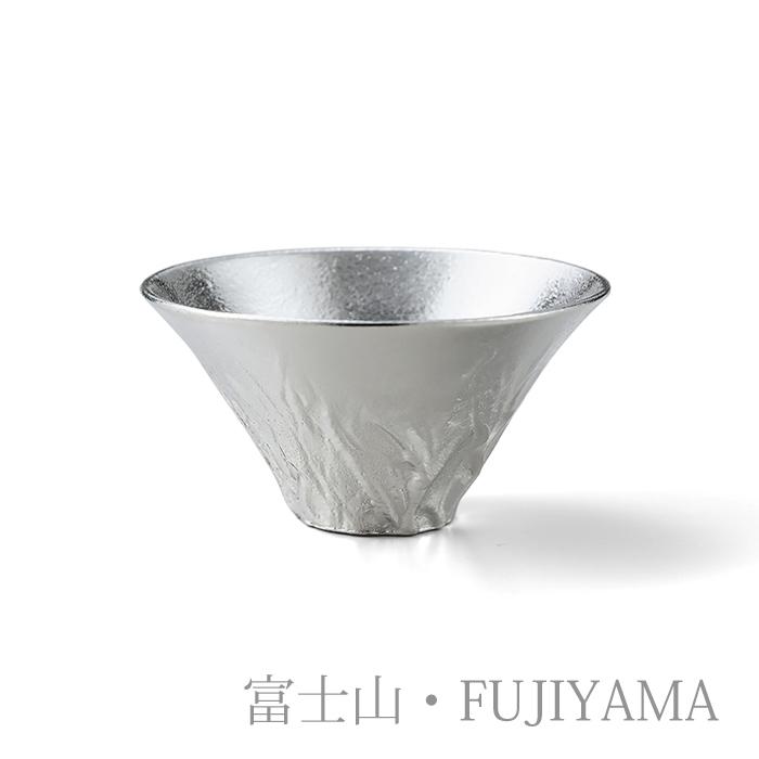 片口 - 大・富士山 2ヶセット(桐箱入)