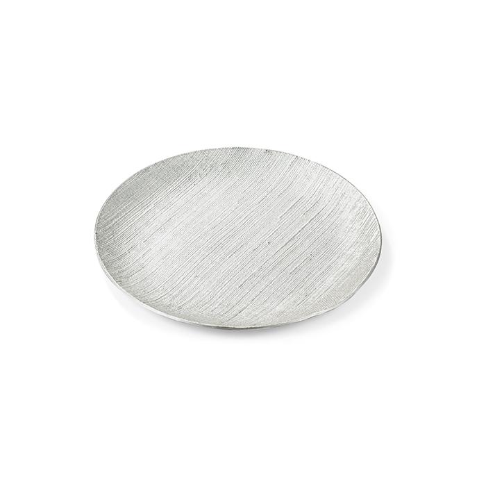小皿 - 布目・氷割