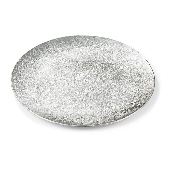 中皿 - 布目・氷割