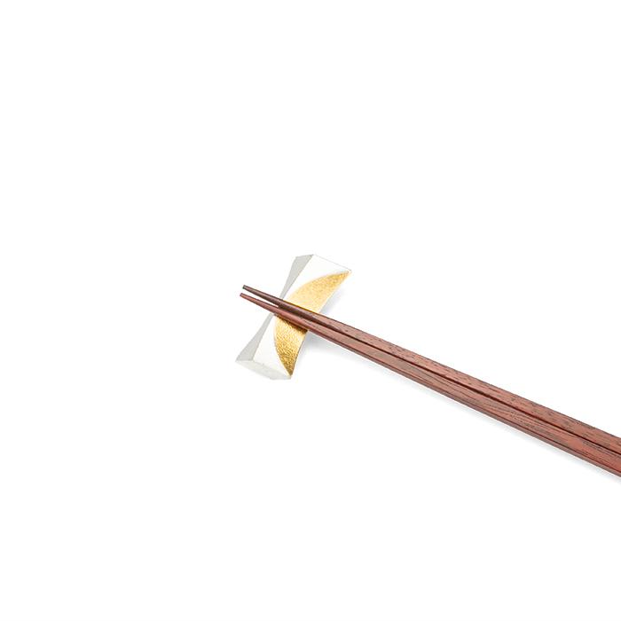 箸置 - 月 - 1ヶ入 - 金箔