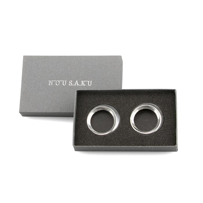 箸置 - Ring - 錫 - 2ケ入