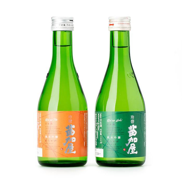 苗加屋×能作  飲み比べ晩酌セット(おつまみ2種付)