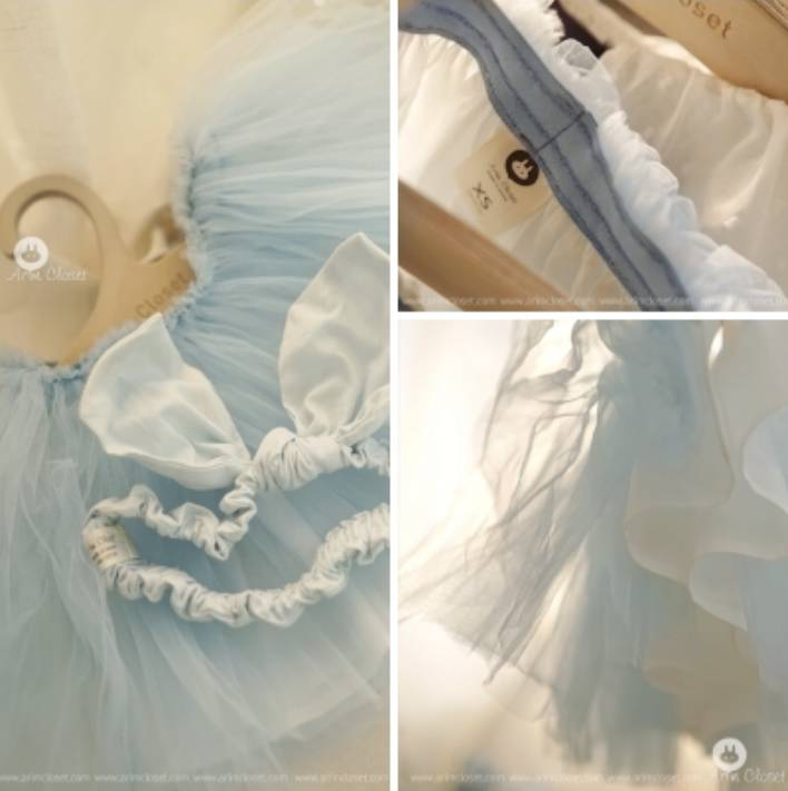【ARIM CLOSET】skyblue tutu(ブルーチュチュ)